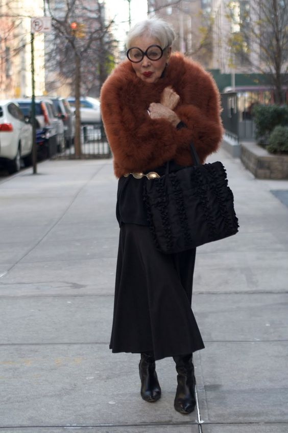 ADVANCED STYLE: Advanced Style Tips For The New Year