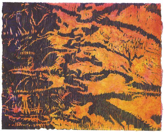"Susan Harrison, ""Erosion Series: Fall, Slide, Flow, Creep"""