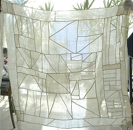 // Korean pojagi patchwork