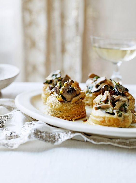 Creamy Mushroom Vol-au-Vents | Vegetable Recipes | Jamie Oliver
