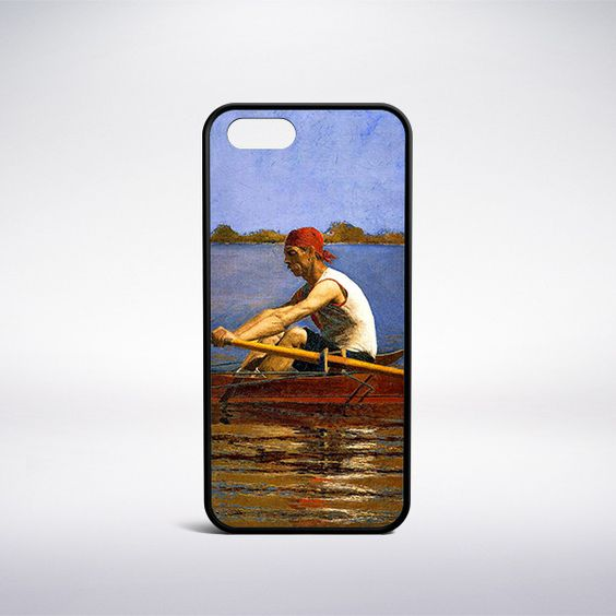 Thomas Eakins - John Biglin In A Single Scull Phone Case