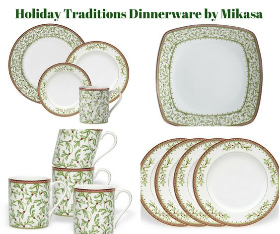 Holiday Traditions Dinnerware by Mikasa