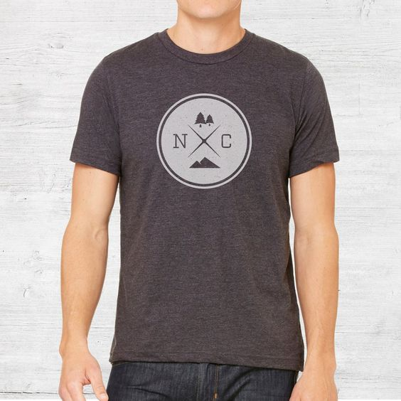 NC Logo Tee | Unisex | Dark Grey Heather