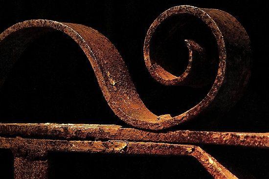 rusted gate - (by rosalie dale) | Rusty beauty