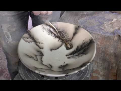 Ceramic Art Horse Hair Raku Technique Youtube Horse Hair