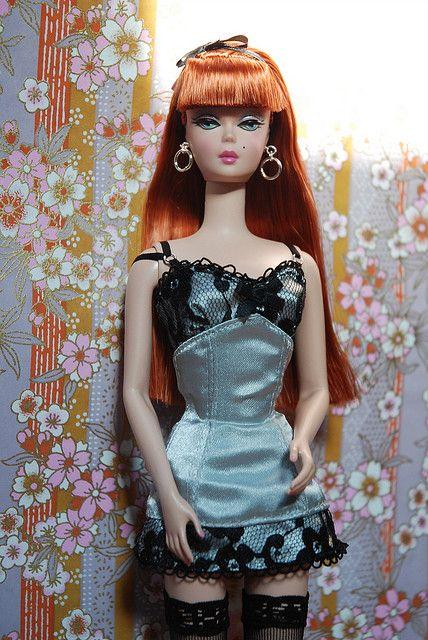 Lingerie 6 Barbie doll silkstone | Flickr