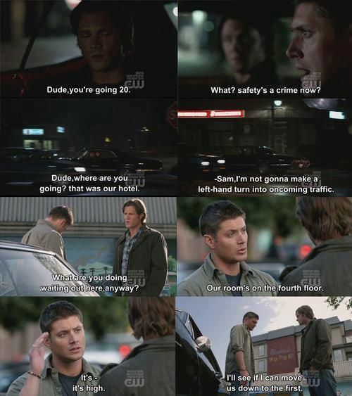 yellow fever #Supernatural