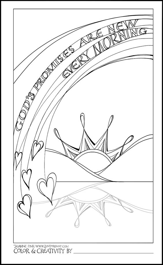 Free Christian Coloring Pages for Adults - Roundup