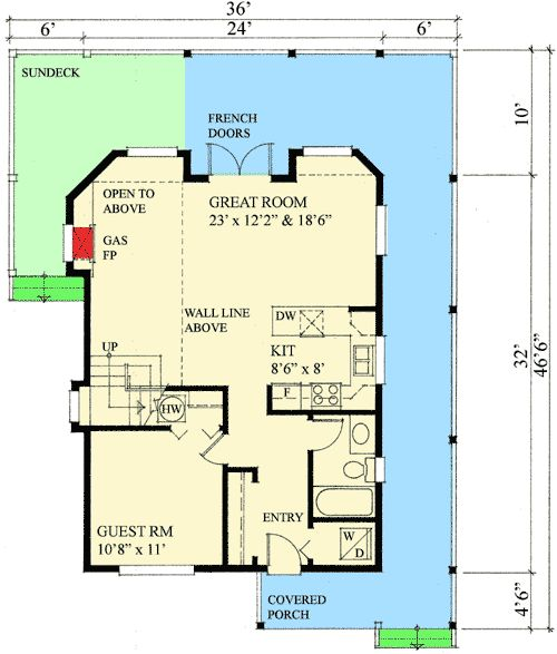 Plan 9812sw ultimate retreat house plans 2nd floor and for Master retreat floor plans
