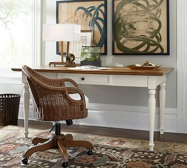 Whitney writing desk from Pottery Barn.  #potterybarn