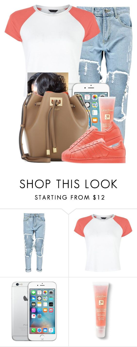 """""""3,000"""" by danimack03 ❤ liked on Polyvore featuring Boohoo, Lancôme, Michael Kors, women's clothing, women, female, woman, misses and juniors"""