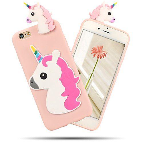 coque iphone 7 licorne silicone