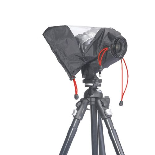Rain covers help to protect your camera from the elements. [Image Kata E690]