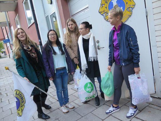 Unga Lions har loppis för Världens barn - gd.se
