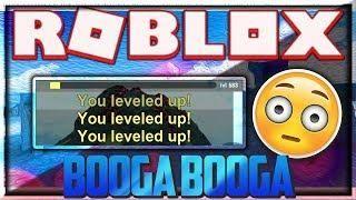 New Roblox Hack Script Booga Booga Level Up Script Destroy