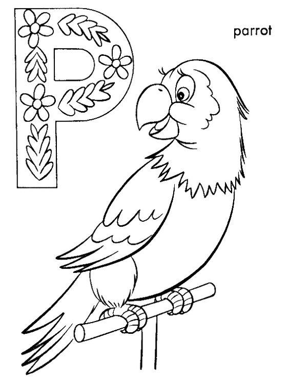 Best ideas about Parrot Coloring