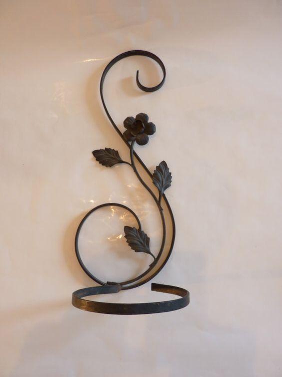 Colgadores de plantas perchas and porta velas on pinterest for Colgadores para perchas