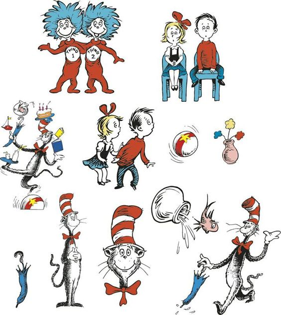 Cat In The Hat™ Characters 2-Sided Decorating Kit