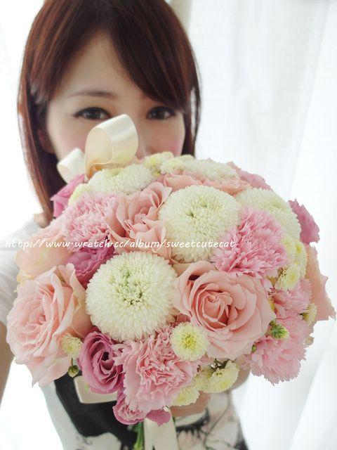 新娘鮮花捧花課程作品分享 @ 愛美麗的小喵喵Vivian+淡淡的張賈森Jason :: 痞客邦 PIXNET ::