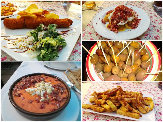 Gastronomía cordobesa (Córdoba) / Typical cuisine from Córdoba, by @legatraveler