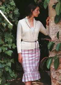 Knitting Patterns For Rowan Summer Tweed : Shawl collar cardigan, Shawl and Collars on Pinterest