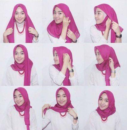 Style Hijab Wisuda 61 Ideas For 2019 Tutorial Hijab Mudah Gaya Hijab Kerudung