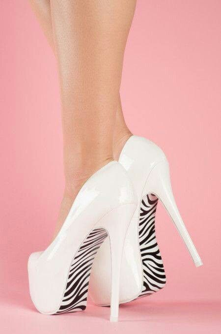 white black stripes stiletto high heels pumps women shoes fashion