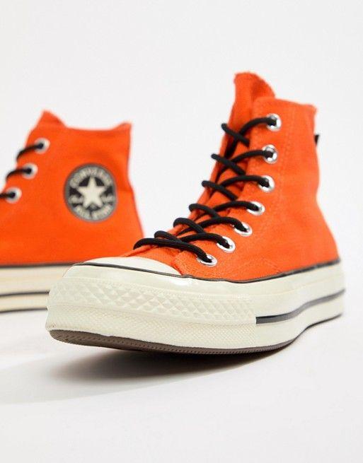 Hi Orange 70 Waterproof X Trainers Converse Tex Chuck Gore uTl1c3FKJ