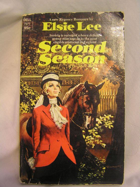Second Season Elsie Lee Dell 7977 A New Regency Romance by SevenSistersBooks on Etsy