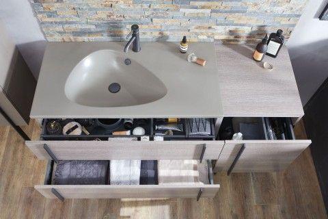 Plan Vasque 101 X 51 Cm Non Meule Jacob Delafon Plan Vasque Meuble Sous Vasque Salle De Bain Simple