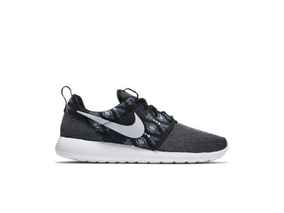 Nike Roshe One Print Men\u0026#39;s Shoe, black/anthracite/cool grey/sail