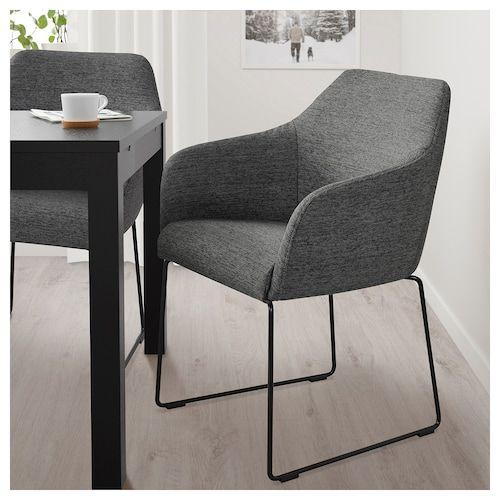 Tossberg Stuhl Metall Schwarz Grau Ikea Deutschland Stuhl Metall Design Stuhle Esszimmer Esstisch Stuhle Grau