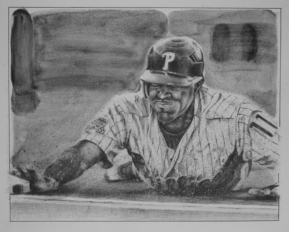Jimmy Rollins Drawing