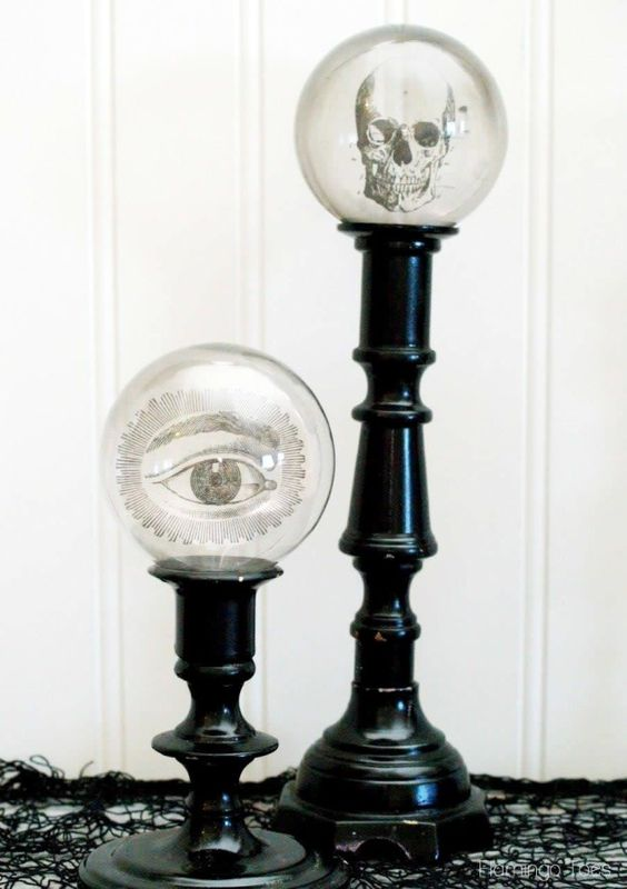 Creepy Candlesticks: