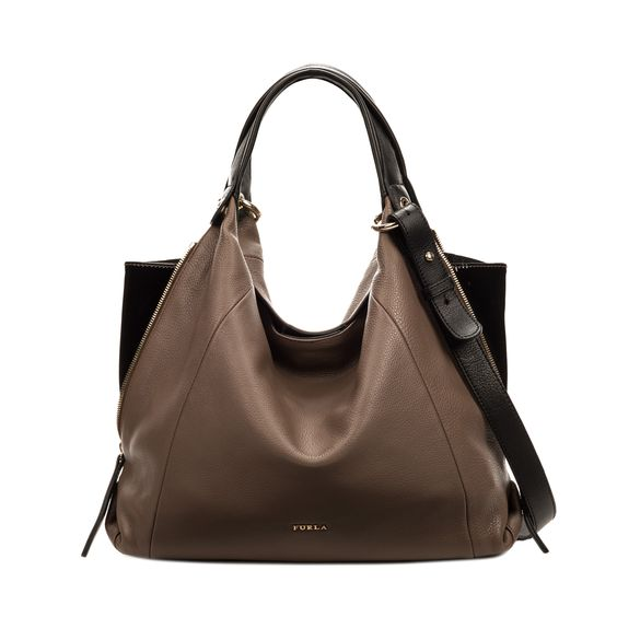 ELISABETH Hobo bag Cigar, Onyx Bags - Furla - United Kingdom