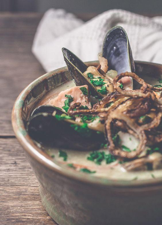 Seafood Chowder aus Nordirland | reisehappen.de