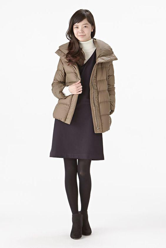 衣料品 2014 秋冬 コーディネートカタログ 婦人 無印良品ネットストア