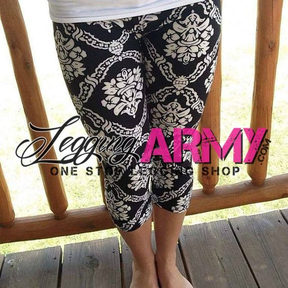 Did you know we sell capris too?! Legging Army has it all for your legging fashion needs!