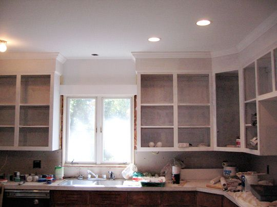Kitchen Cabinets Up To Ceiling kitchen transformation: photos of a step-by-step renovation