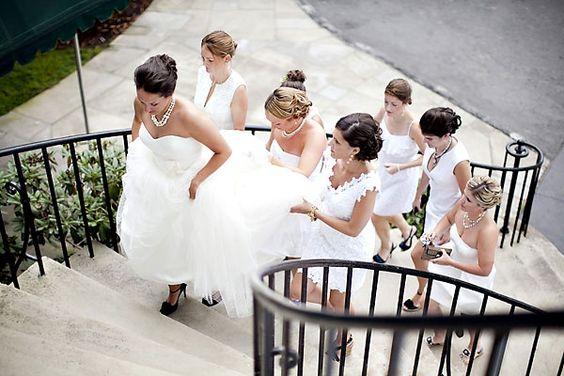 maids assisting