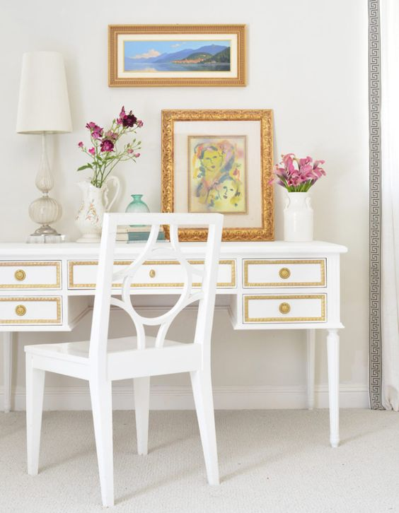 raw furniture furniture colors painted furniture girl ave colette desk painting furniture projects ave raw inspiration desks home office study centsational girl painting furniture