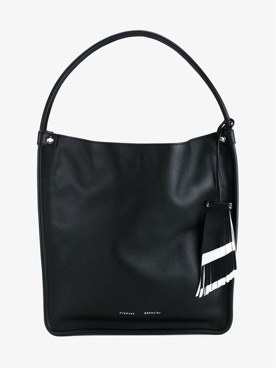 PROENZA SCHOULER MEDIUM LEATHER TOTE BAG. #proenzaschouler #bags #leather #hand bags #tote #