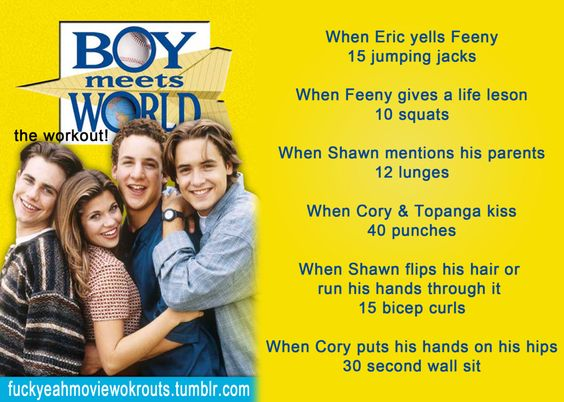 Boy Meets World show workout