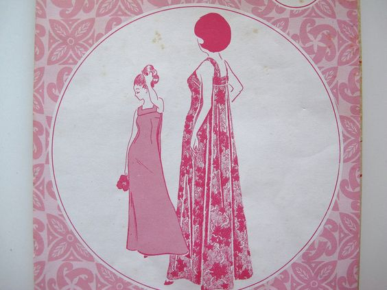 Vintage 1970s Hawaiian Muumuu Long Dress Sewing Pattern - Patterns Pacifica 3016 Size 8 Honolulu Hawaii - Uncut. $14.00, via Etsy.