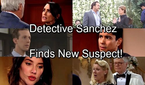 The Bold And The Beautiful Spoilers Detective Sanchez Focuses On Shocking New Suspect With Images Bold And The Beautiful Shocking News Soap News