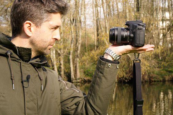 Aprende a sostener correctamente tu cámara digital réflex en menos de un minuto y mejora tu Fotografía (video).