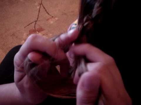 Braiding with four strands.