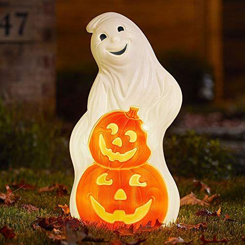 Halwn Blowmld Ghost 31 Union Ghost Lights Halloween Ghost Decorations Ghost Decoration