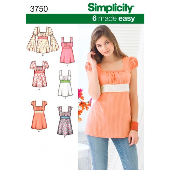 Simplicity Pattern - Patterns - Fabric & Patterns - Shop Online | Lincraft
