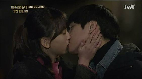 #Reply1988 I hated Sun woo for breaking Duk Seon's heart but they are SO CUTE.: